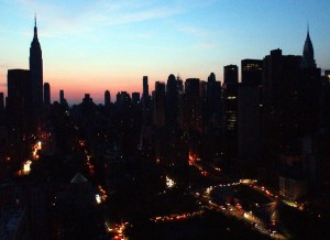 NYC in 2003 blackout