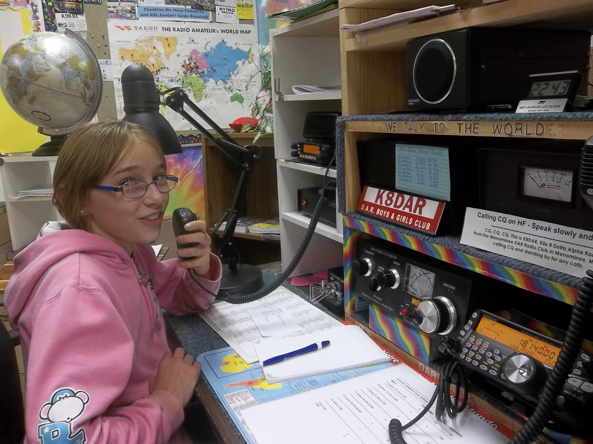Amature radio sites